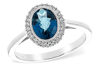 D216-64564: LDS RG 1.27 LONDON BLUE TOPAZ 1.42 TGW