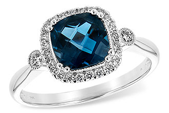 F216-64564: LDS RG 1.62 LONDON BLUE TOPAZ 1.78 TGW
