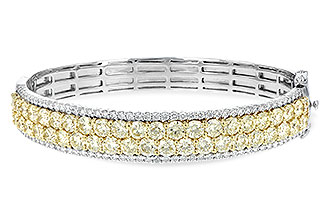 G216-66382: BANGLE 8.17 YELLOW DIA 9.64 TW